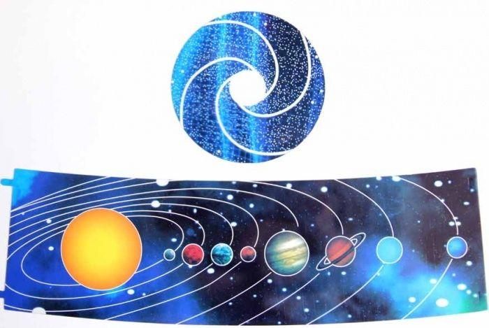 Проектор звездного неба Star Master (Стар Мастер), сменные вкладыши: Солнечная система