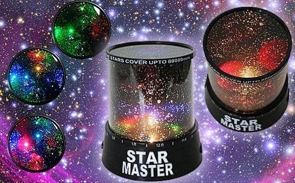 Проектор звёздного неба Star Mast - необычный светильники и ночник купить 8-495-510-30-26!