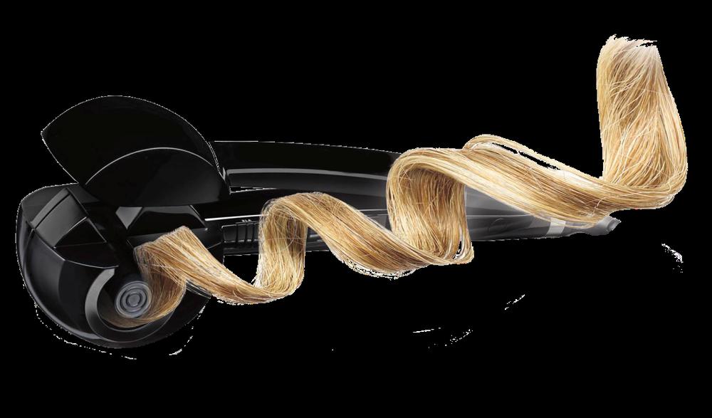 Как Babyliss Pro Perfect Curl работает (завивка локона)
