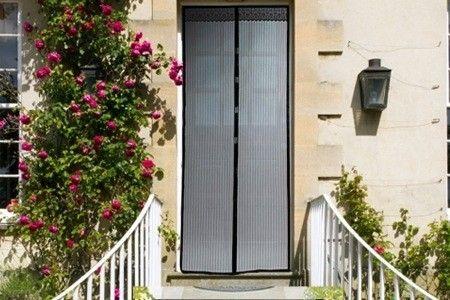 Магнитная антимоскитная штора Magic mesh заменит вам дверь летом!